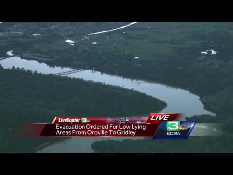 Thumbnail: LiveCopter 3 surveys Oroville auxiliary spillway