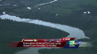 LiveCopter 3 surveys Oroville auxiliary spillway