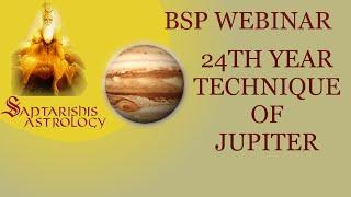 BSP Webinar - Jupiter