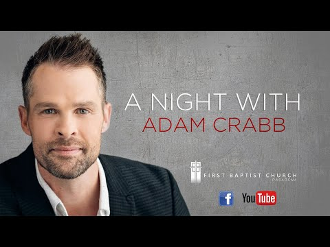 A NIGHT WITH ADAM CRABB