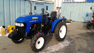 Купить Мини-трактор Jinma-264E (Джинма-264Е) с ходоуменьшителем minitrak.com.ua(, 2017-02-02T13:36:00.000Z)