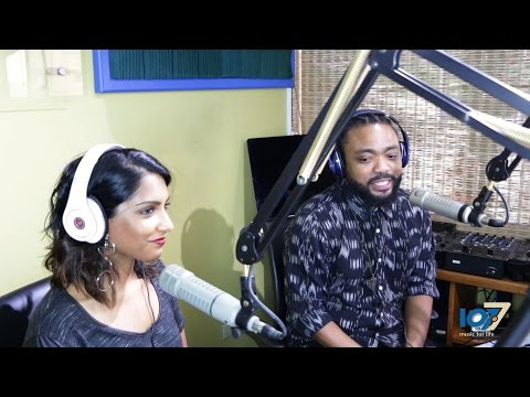 Lead Actors Of 'Bazodee', Machel Montano & Natalie Perera, Are In T&T For Movie Opening, 14th Sept.