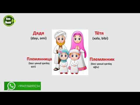 Русский язык для начинающих Урок 4. Cемья