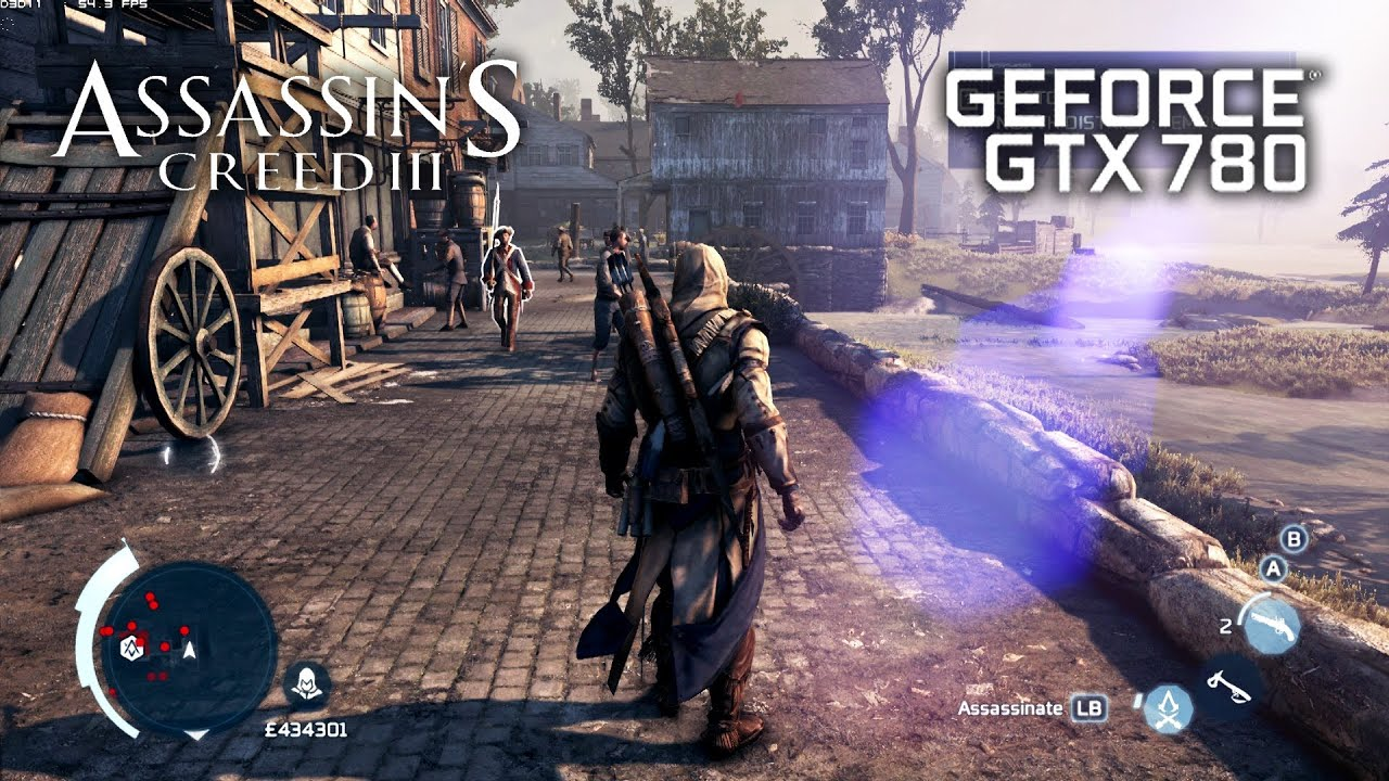 Assassin S Creed 3 Asus Gtx 780 Ultra Settings Youtube