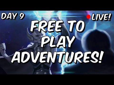 Free To Play Adventures - Heroic 100% Push + Act 4! - Marvel Contest Of Champions