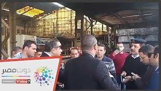 النيابة الإدارية تنتقل لموقع حادث محطة مصر وتبدأ التحقيق