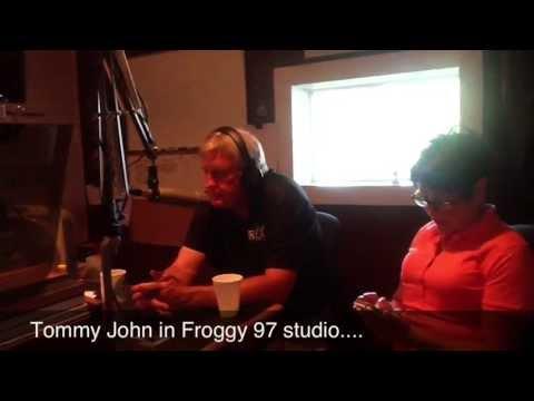 Tommy John In Froggy 97 Studio