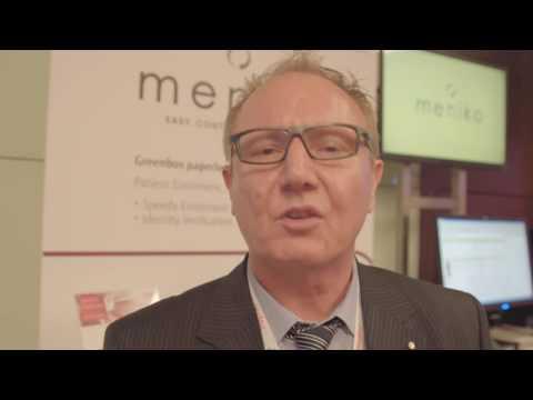 Mike Morris von Meniko Records Management Services @ICC