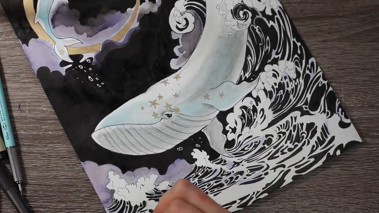 Inktober 2018 18 : Starfish