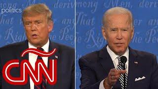 ¿Qué comunicaron Trump y Biden con su lenguaje corporal durante el primer debate?