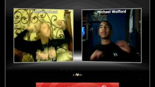 Michael and Rachael Wop on oovoo