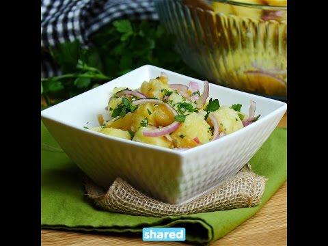 Olive Oil And Vinegar Potato Salad