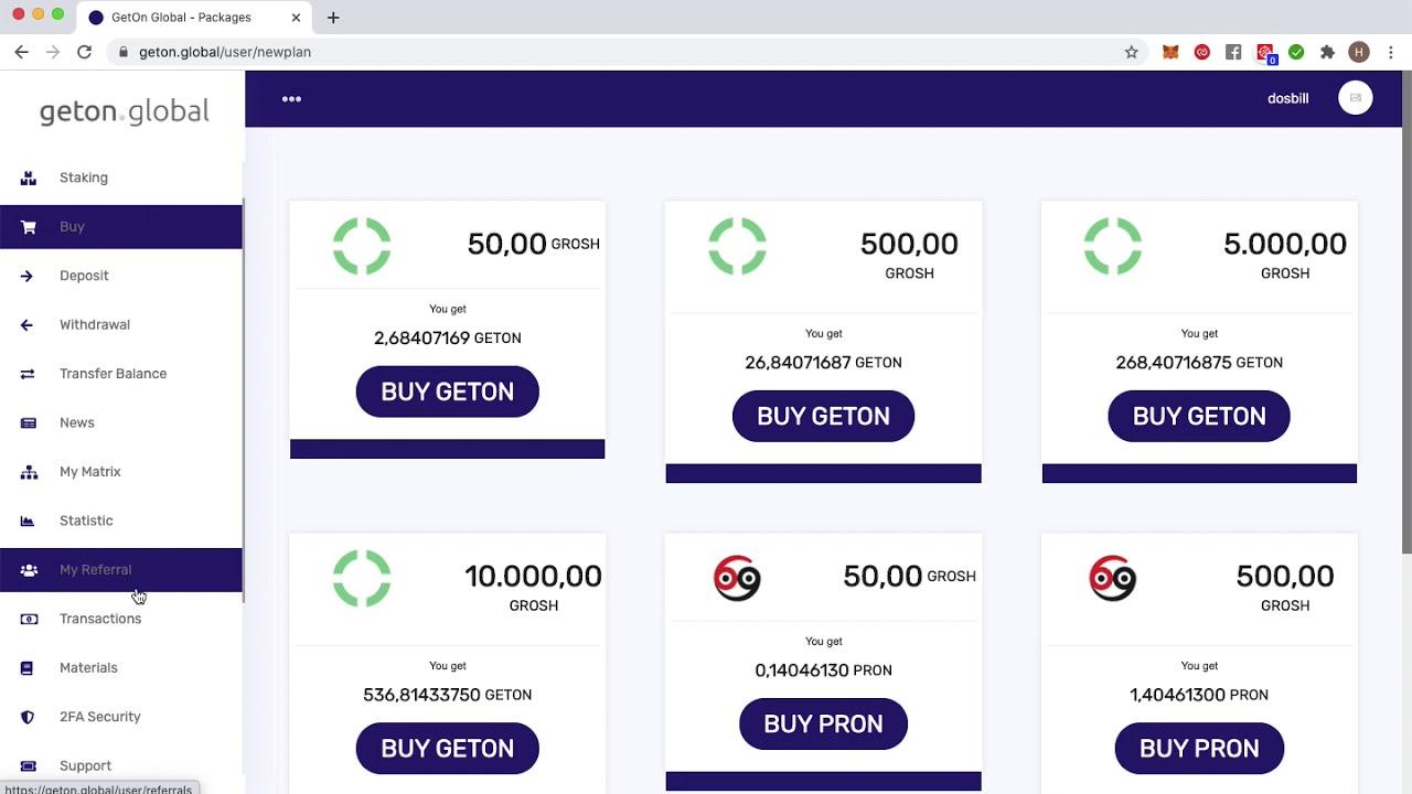 Download GetOn : Comment participer au Projet
