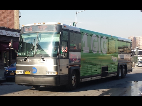 MTA Bus: On Board 2006 MCI D4500CL [#3276] BxM8 Express Bus to Midtown via Bruckner Expressway
