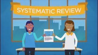 The Steps of a Systematic Review