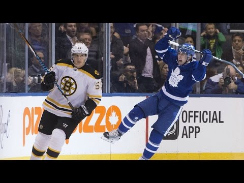 Gotta See It: Marner scores first NHL goal