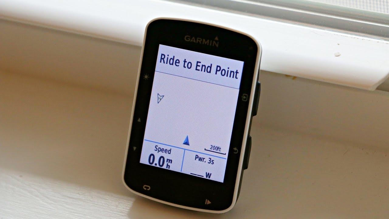 Garmin Edge 520 Turn Direction Using Ride With GPS