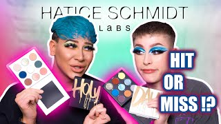 HATICE SCHMIDT LABS Holy Palette REVIEW mit @Marvyn Macnificent // Ossi Glossy