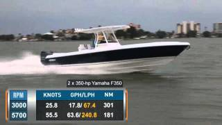 Intrepid 327 CC Reviewed by BoatTest.com