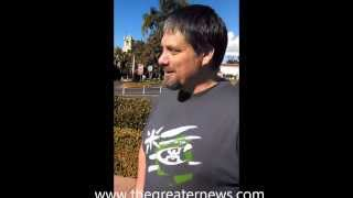 TGN Testimony Back Healed at Balboa Park, San Diego, CA 11-23-13