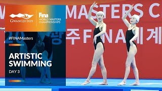 RE-LIVE | Artistic Swimming Day 3 | FINA World Masters Championships 2019