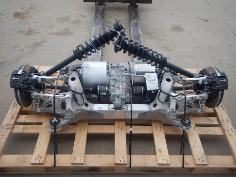 2016 Tesla Model S 60 Electric Motor Gearbox Drive Unit RWD