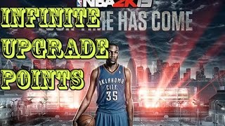 NBA 2K15-Infinite upgrade points cheat for MyCareer-PC