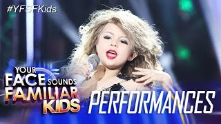 your face sounds familiar kids xia vigor as taylor swift you belong with me