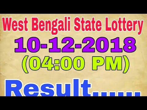 West Bengal State Lottery Live Result | Banga Lakshmi Teesta 10/12/2018  (04:00 PM) Result