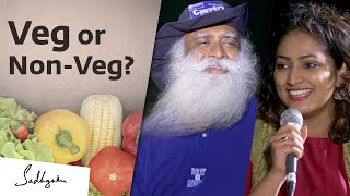 Is Eating Non-Vegetarian Food Ethically Wrong – Hariprriya Asks Sadhguru