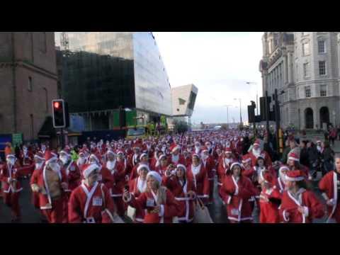 Liverpool Santa Dash 2009