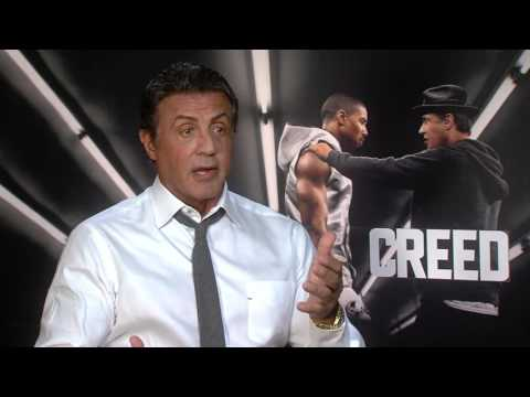 "Creed: Sylvester Stallone ""Rocky Balboa"" Official Movie Interview"