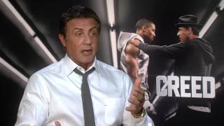 """Creed: Sylvester Stallone """"Rocky Balboa"""" Official Movie Interview"""