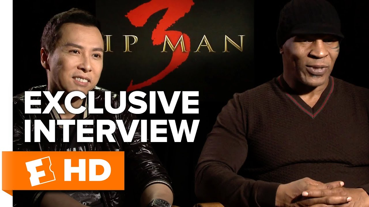 Ip Man 3 - Exclusive Interview (2016) HD - YouTube