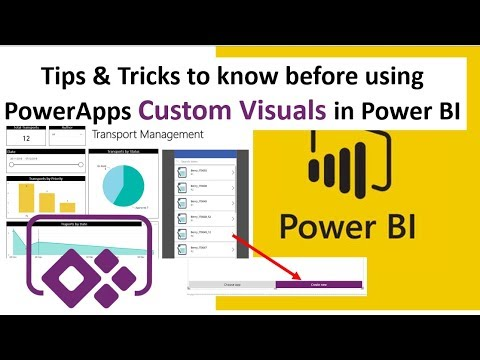 Tips and Tricks to embed PowerApps custom visual in Power BI Report |  DataonMyView