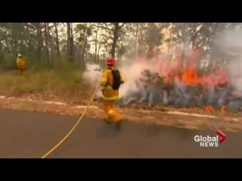 Australian wildfires intensify