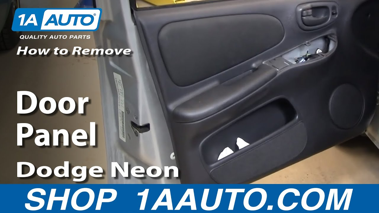 How To Install Replace Remove Door Panel 00 05 Dodge