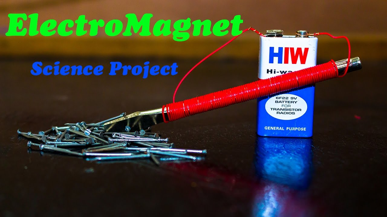 science projects electromagnet