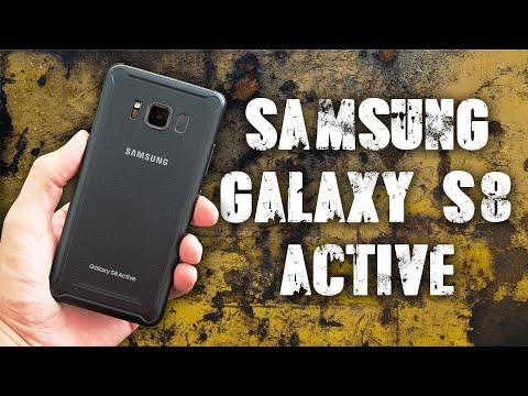 Защищенный Samsung Galaxy S8 Active. Уродлив или нет? (Обзор) перезалив.