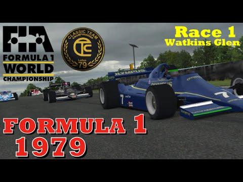 Formula 1 Classic: Watkins Glen Race 1 (Full Race iRacing CTC)