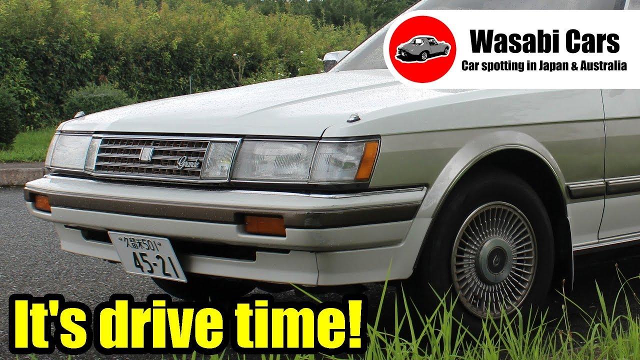 Drive Time Cars >> Drive Time 1987 Toyota Mark Ii Grande Hardtop Gx71 Two Tone