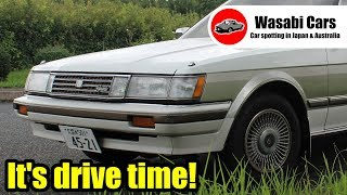 Drive Time: 1987 Toyota Mark II Grande Hardtop (GX71) Two-Tone