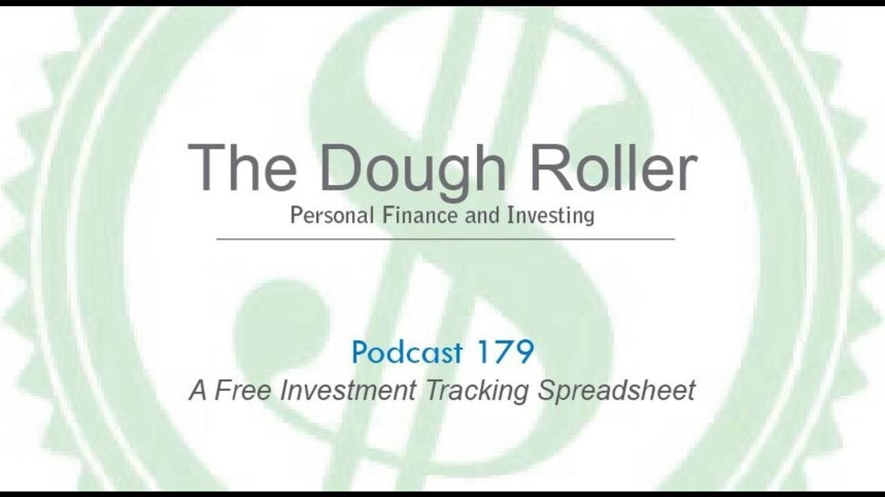 dr 179 a free investment tracking spreadsheet youtube