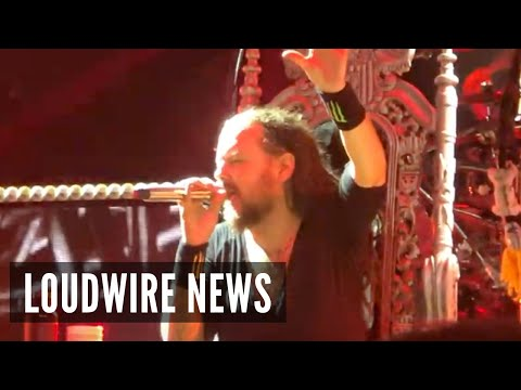 Korn's Jonathan Davis Forced to Perform Seated During COVID Recovery