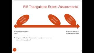 Part III Rapid Impact Evaluation (RIE) Questions and Answers
