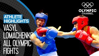 All Vasyl Lomachenko 🇺🇦 Olympic Boxing Bouts | Athlete Highlights