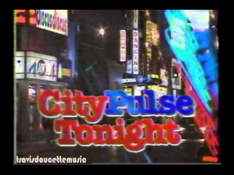 City Pulse News Clip with Mark Daily (80's)