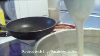 How To Make Vibibi (rice Pancakes)