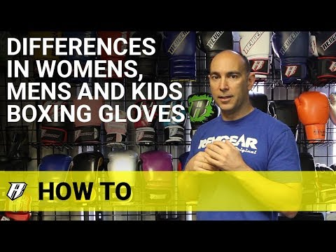 Differences In Womens, Mens, And Kids Boxing Gloves