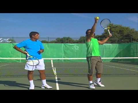 Aprende A Jugar Al Tenis Con Rafa Nadal El Saque  YouTube